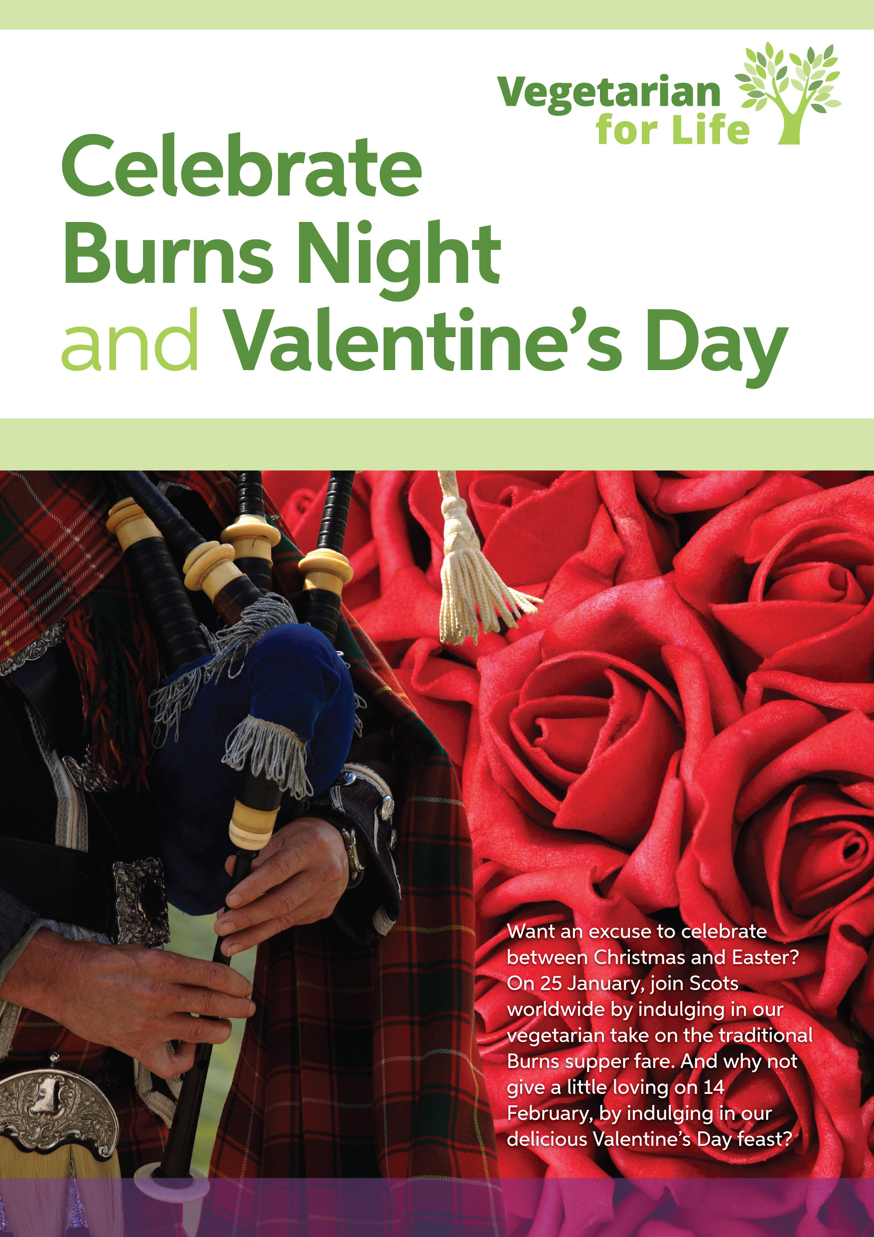 Celebrate Burns Night and Valentine's Day