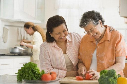 Information for older veggies