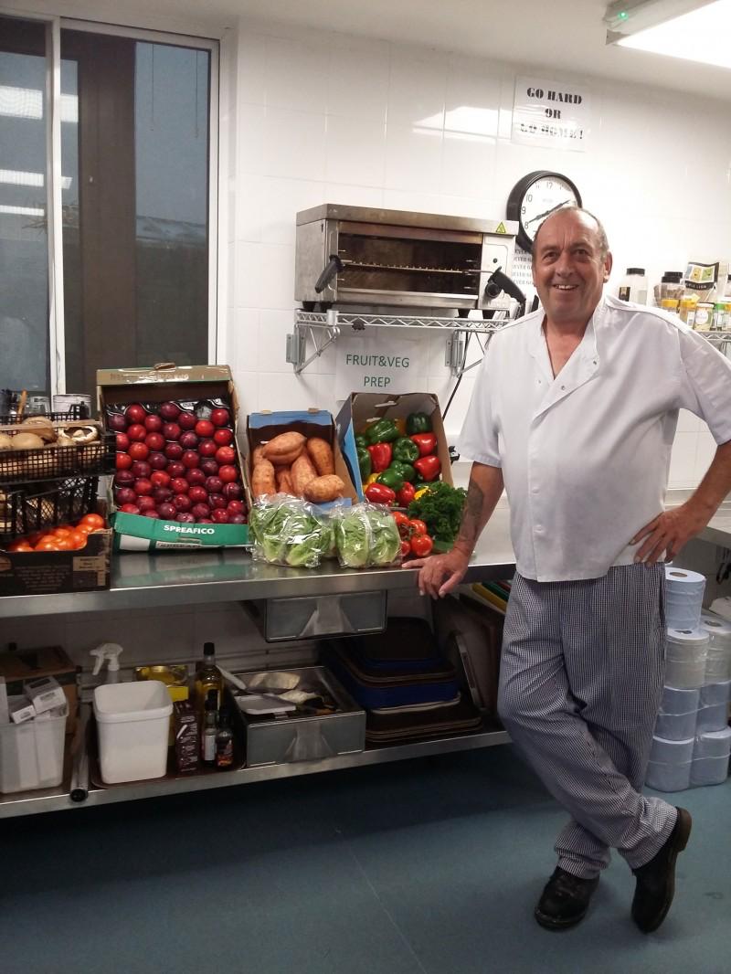 Steve Dale, Head Chef, Moreton Centre, St Matthew's Health Care